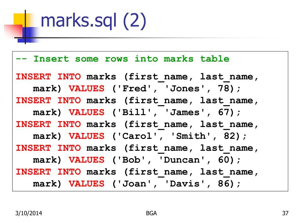 marks.sql (2)