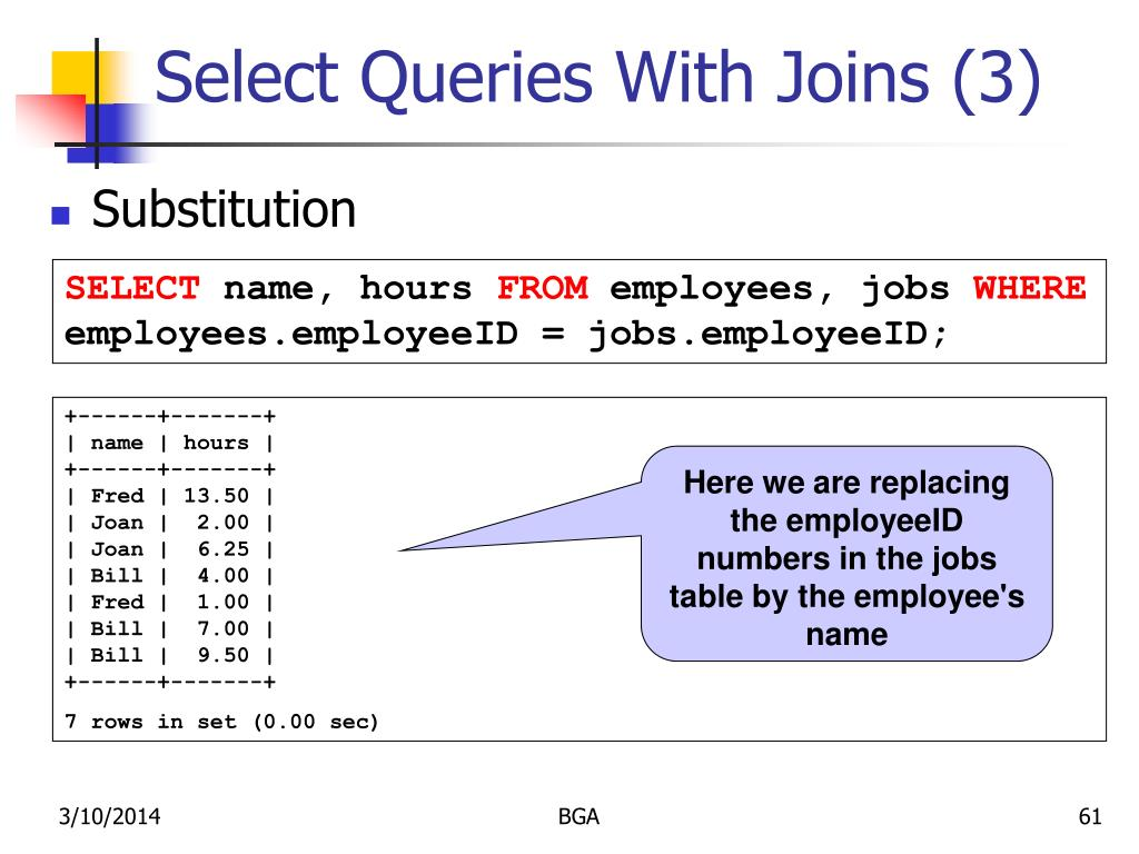 Select Queries With Joins (3)
