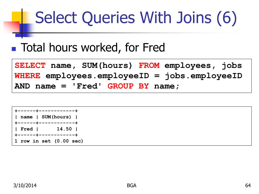 Select Queries With Joins (6)