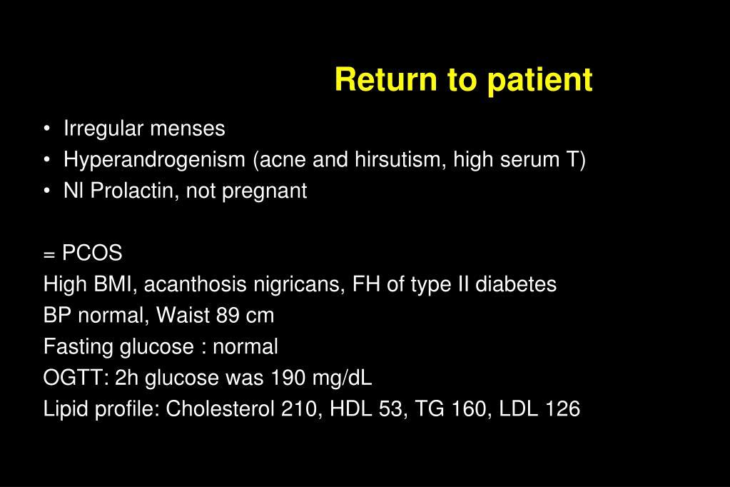 Return to patient