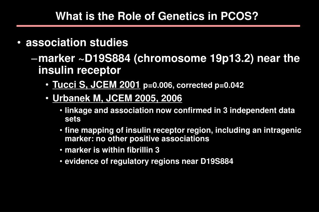 What is the Role of Genetics in PCOS?