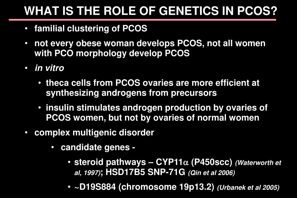 familial clustering of PCOS
