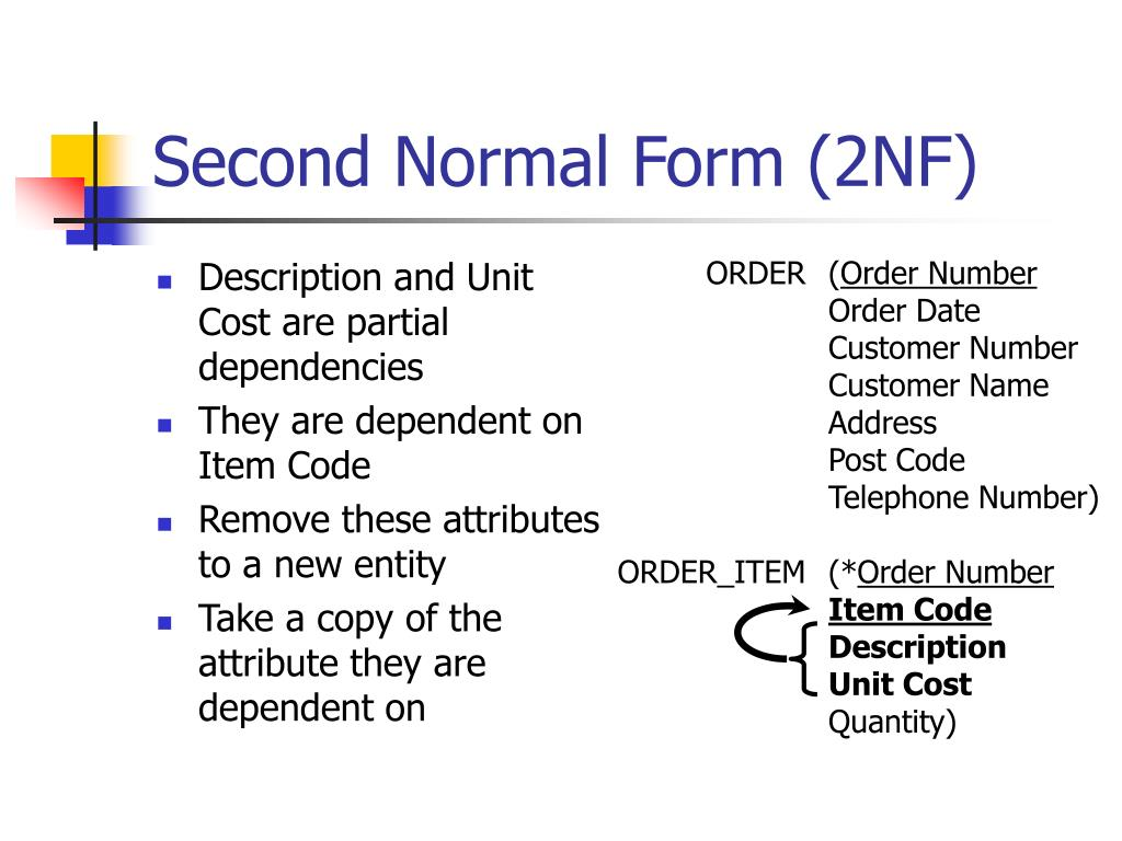 Second Normal Form (2NF)