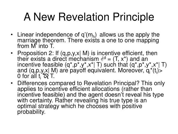 A New Revelation Principle