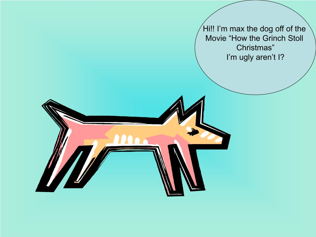 Hi!! I'm max the dog off of the