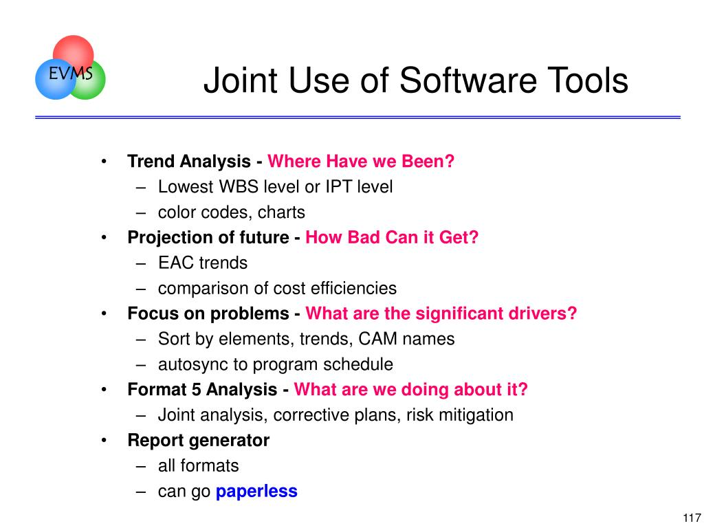Joint Use of Software Tools