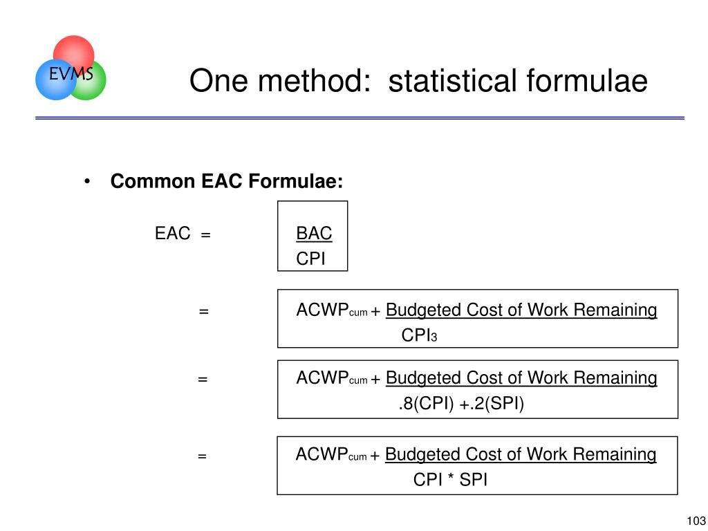 One method:  statistical formulae