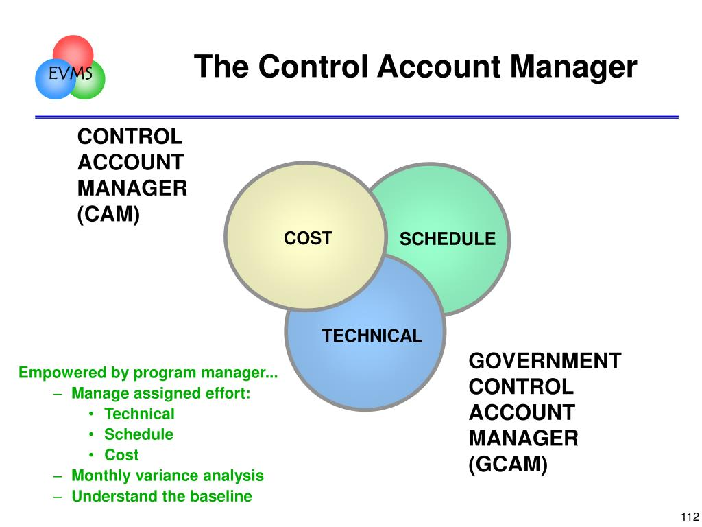 The Control Account Manager