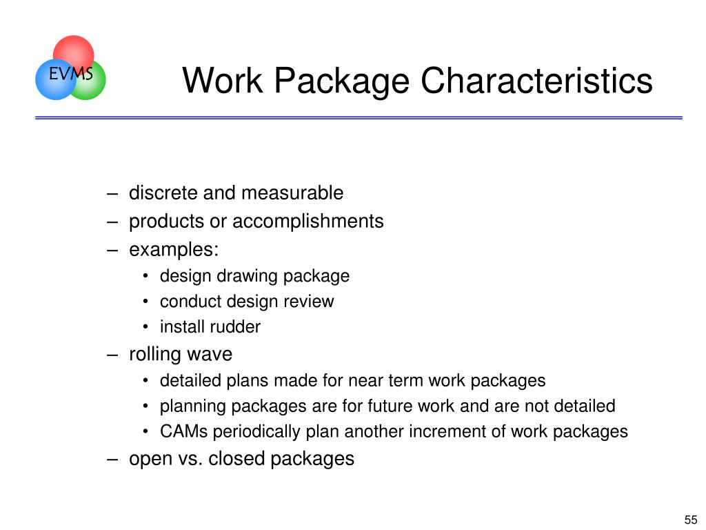 Work Package Characteristics
