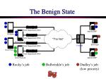 the benign state
