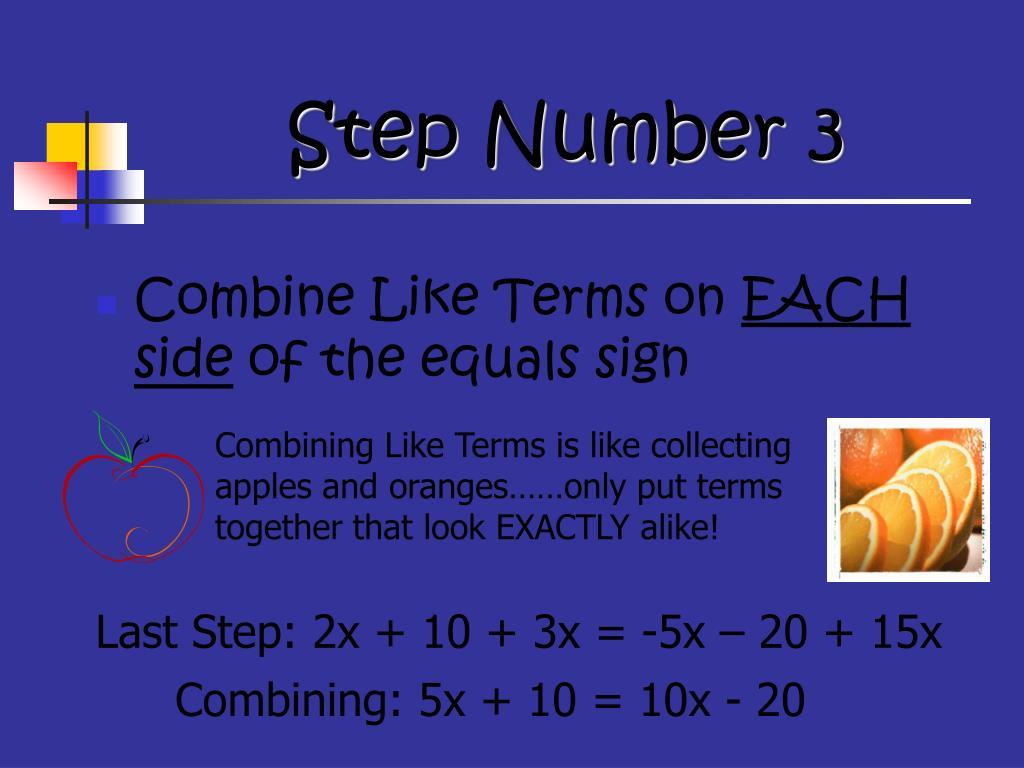 Step Number 3