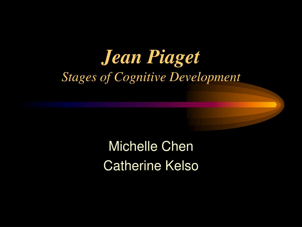 jean piaget stages of cognitive development