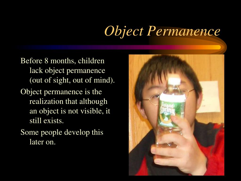 Object Permanence