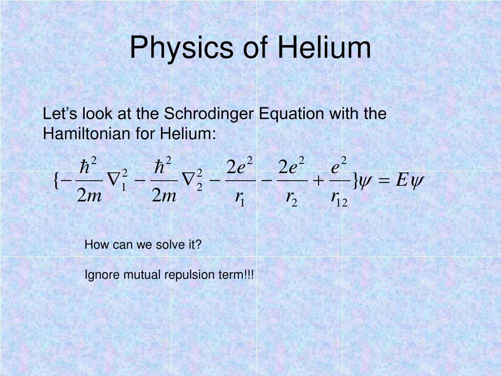 PPT - Helium PowerPoint Presentation - ID:723431