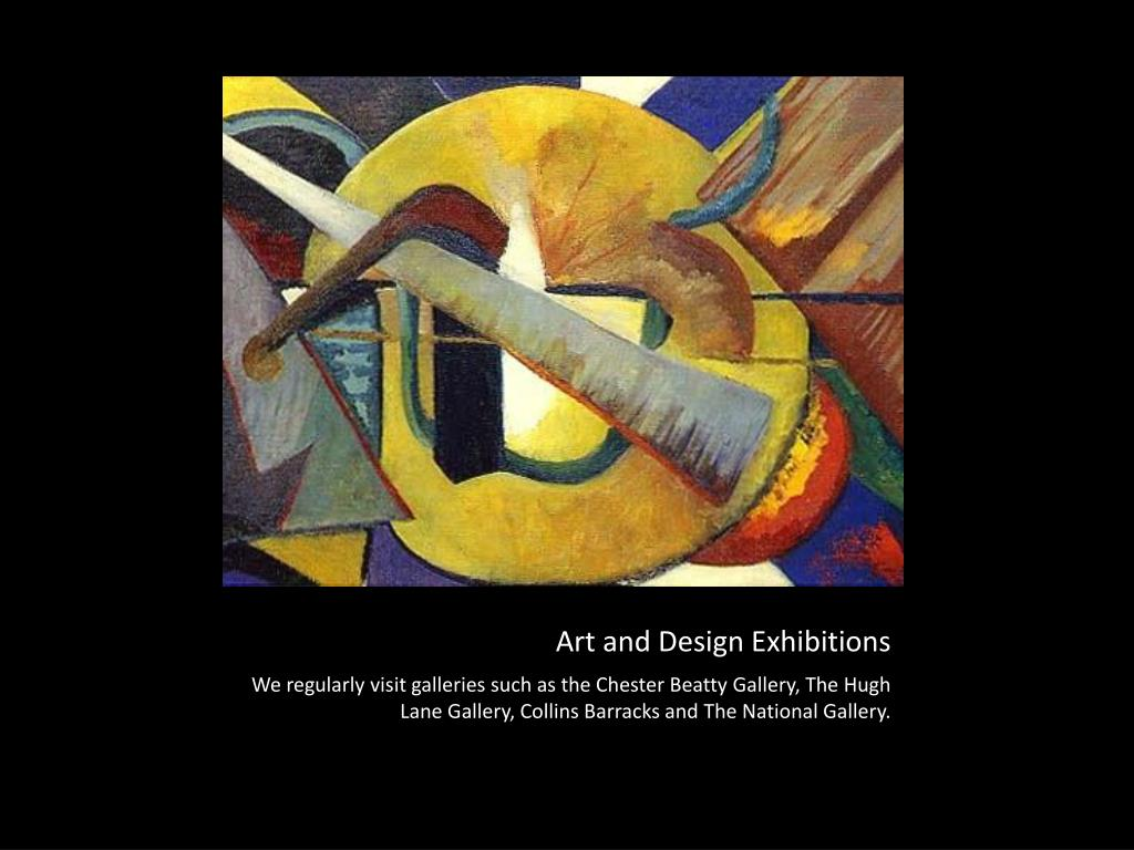 Art and Design Exhibitions