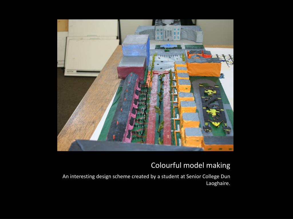 Colourful model making