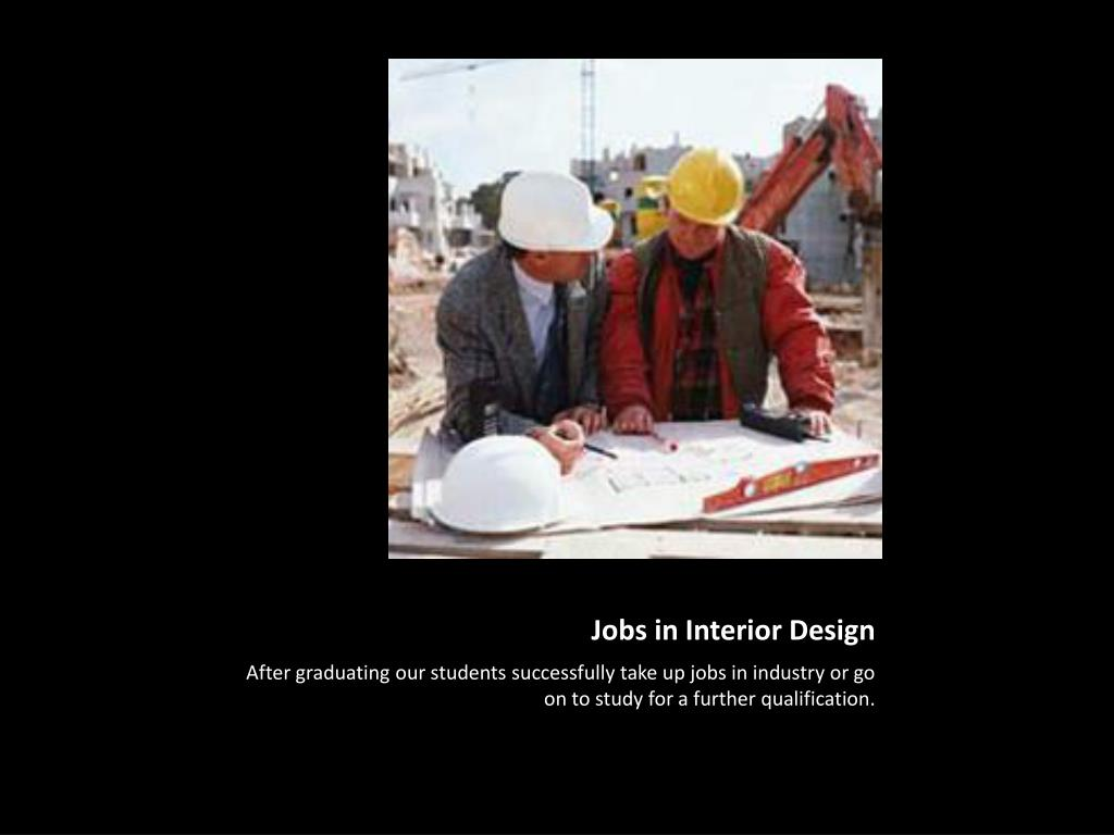 Jobs in Interior Design