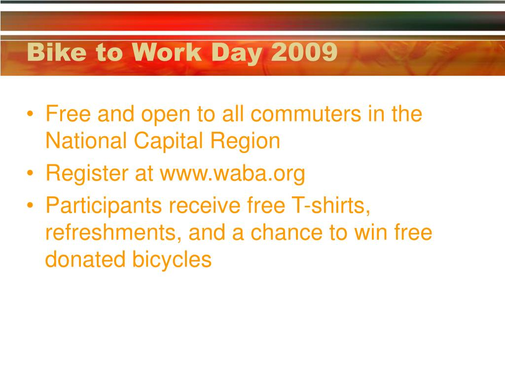 Bike to Work Day 2009