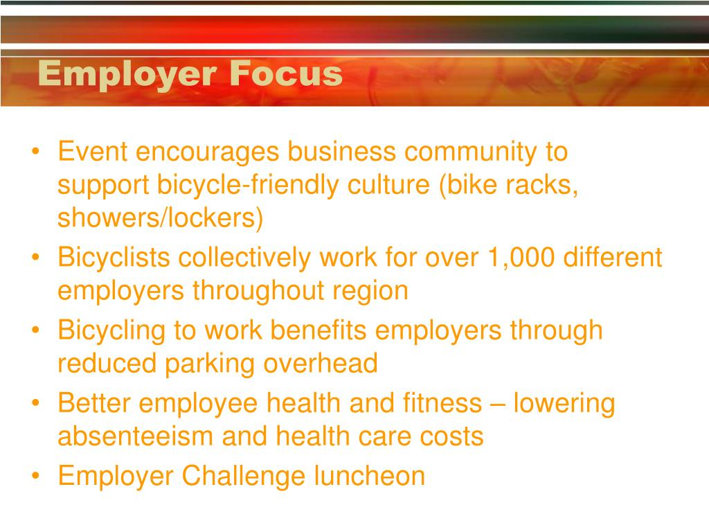 Employer Focus