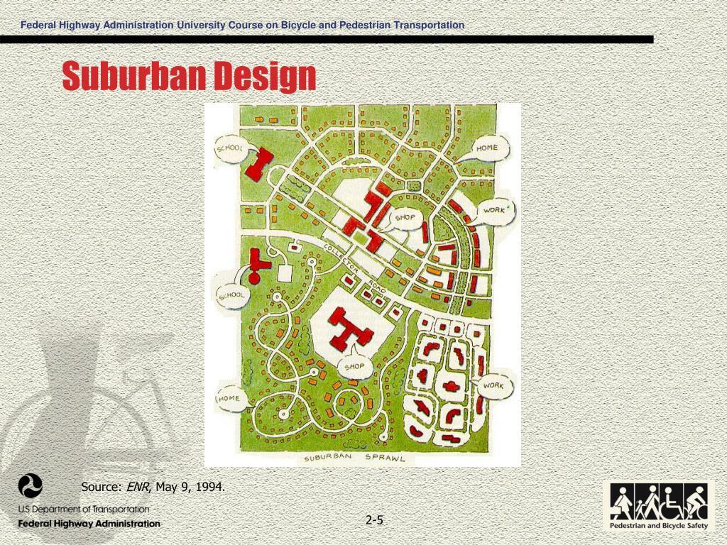 Suburban Design