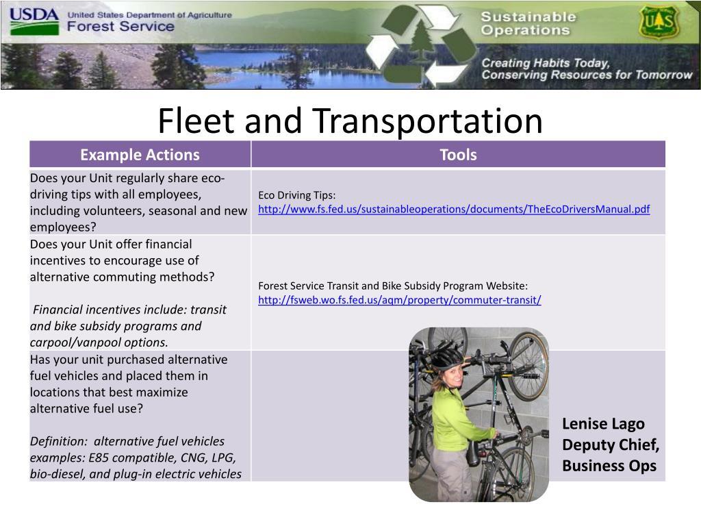 Fleet and Transportation