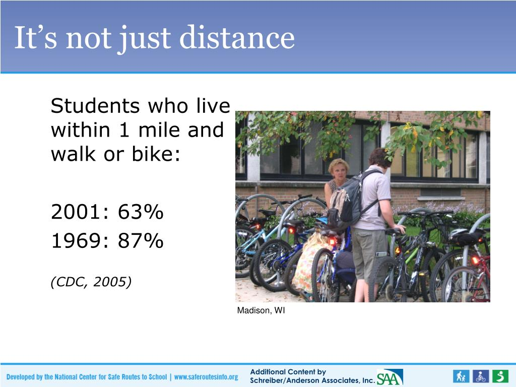 It's not just distance