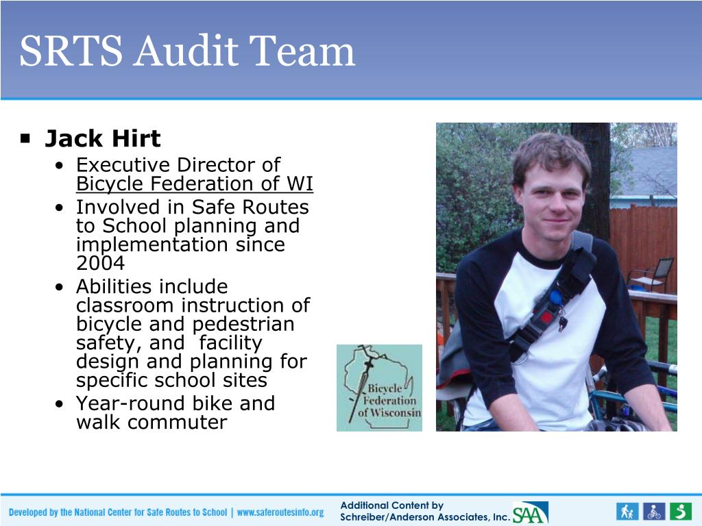 SRTS Audit Team