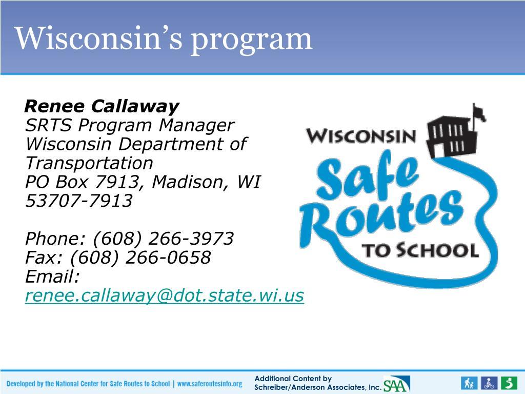 Wisconsin's program