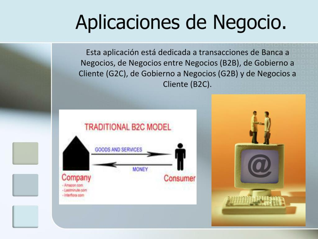 Aplicaciones de Negocio.