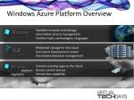 windows azure platform overview7