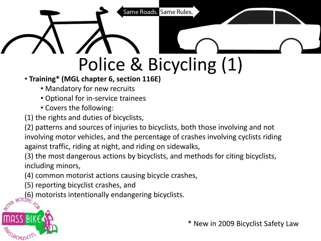 Police & Bicycling (1)
