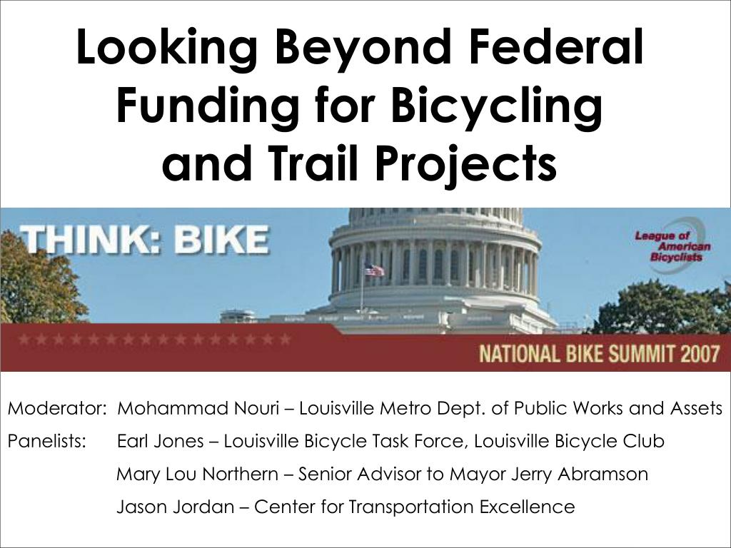 Looking Beyond Federal Funding for Bicycling and Trail Projects
