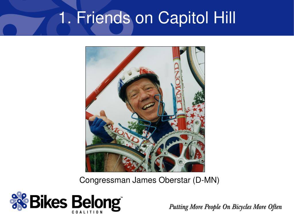 1. Friends on Capitol Hill