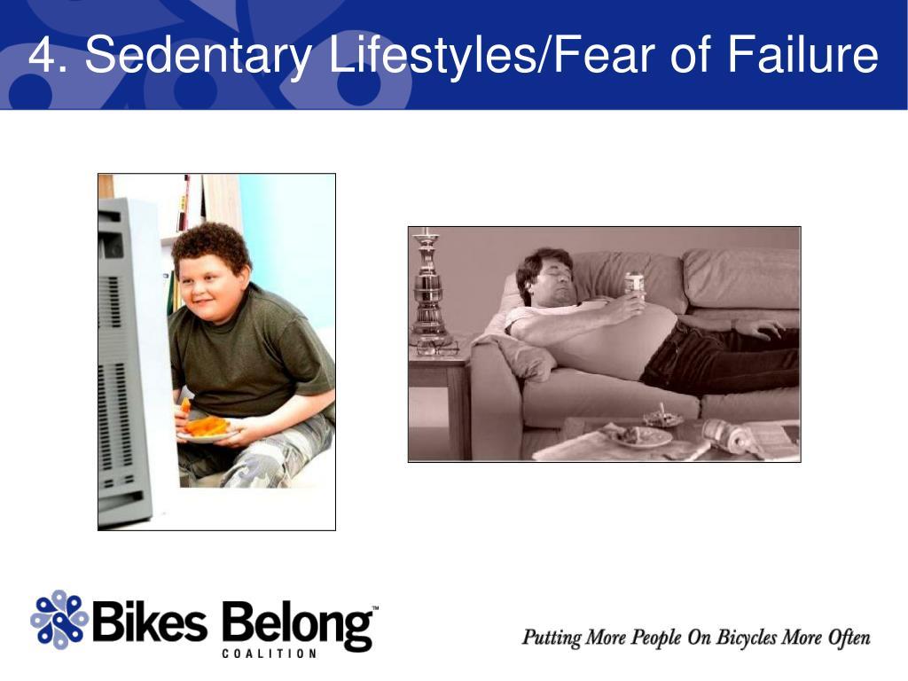 4. Sedentary Lifestyles/Fear of Failure