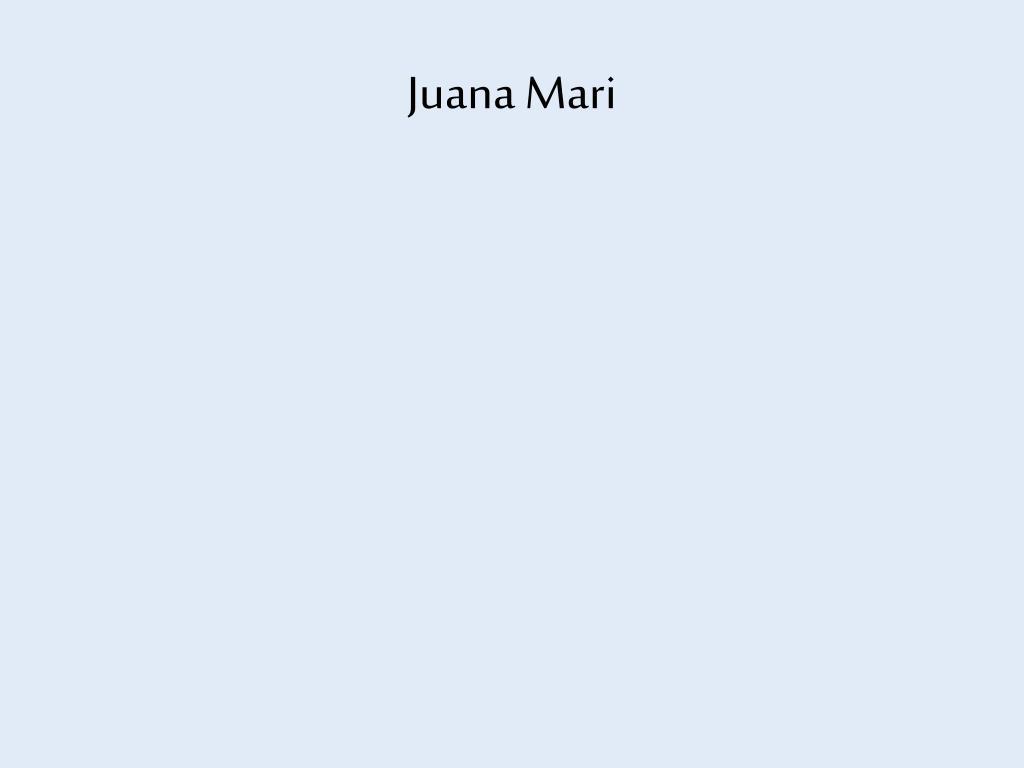 Juana Mari