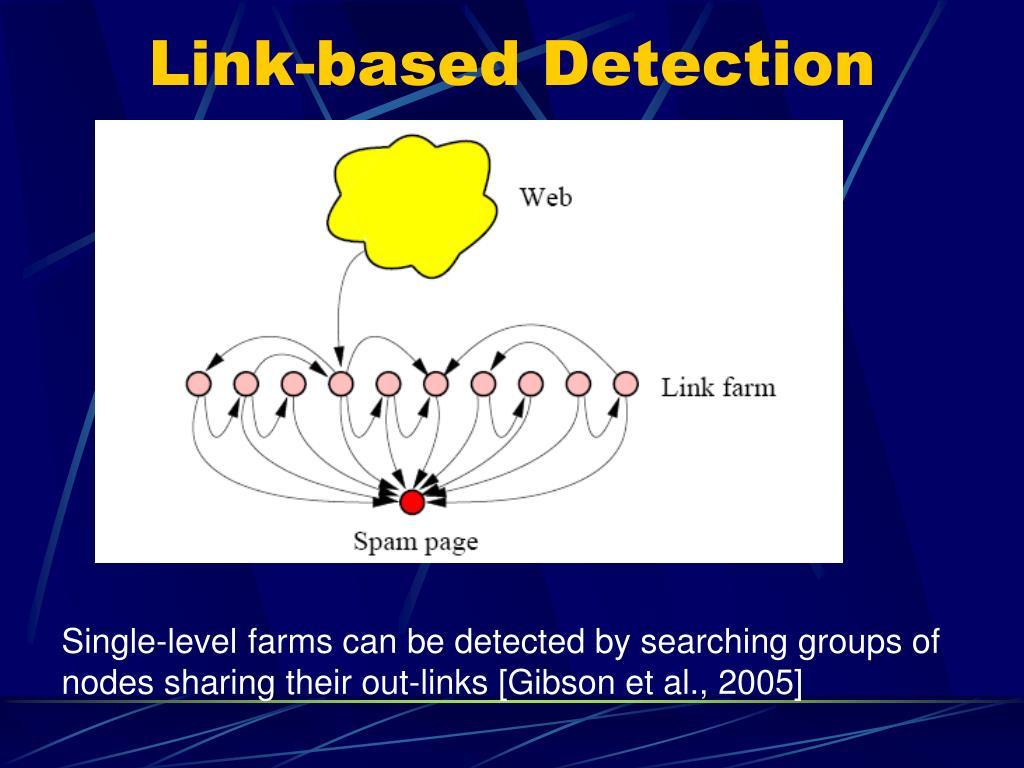 Link-based Detection