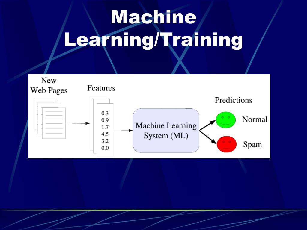 Machine Learning/Training