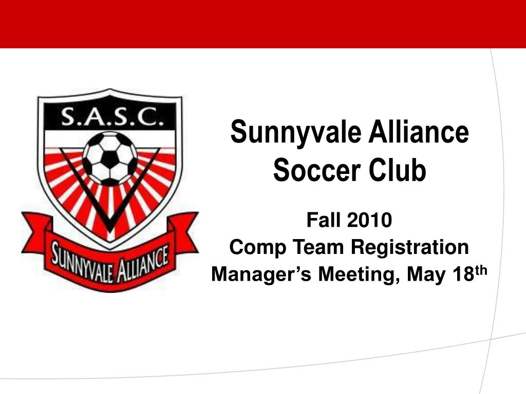 Sunnyvale Alliance Soccer Club