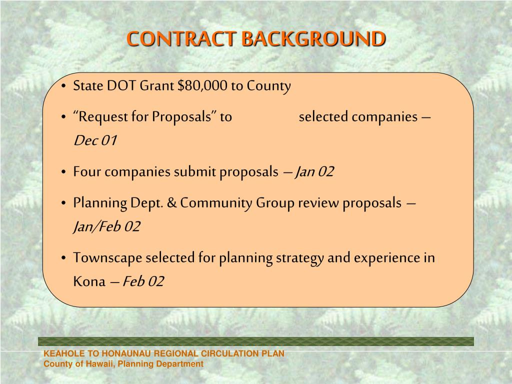 State DOT Grant $80,000 to County