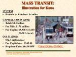 mass transit illustration for kona