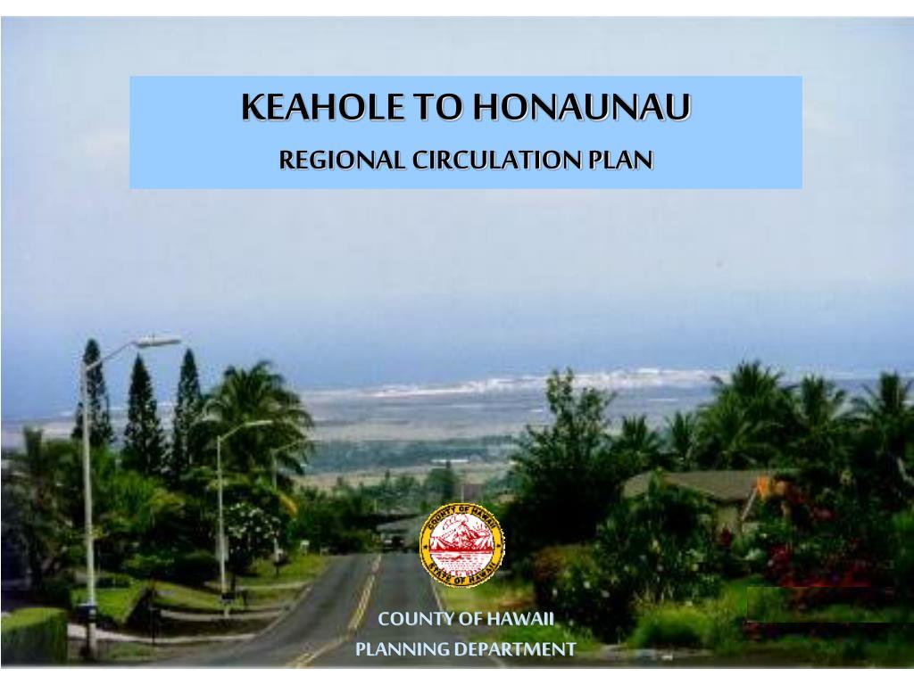 KEAHOLE TO HONAUNAU