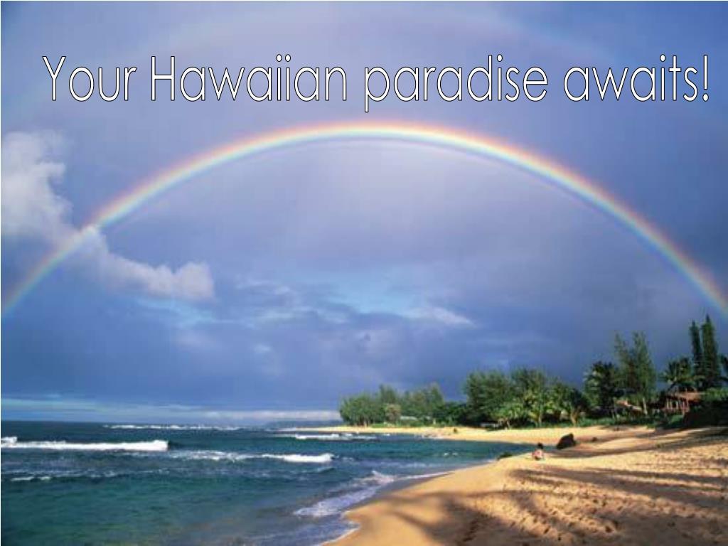 Your Hawaiian paradise awaits!