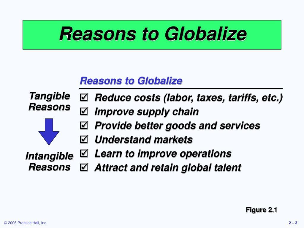 Tangible Reasons