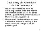 case study 2b allied bank multiple year analysis