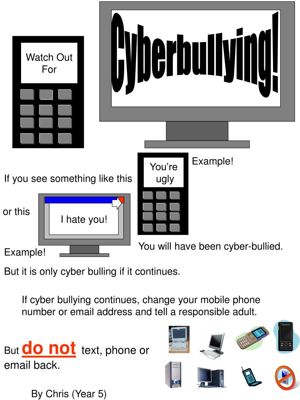Cyberbullying!