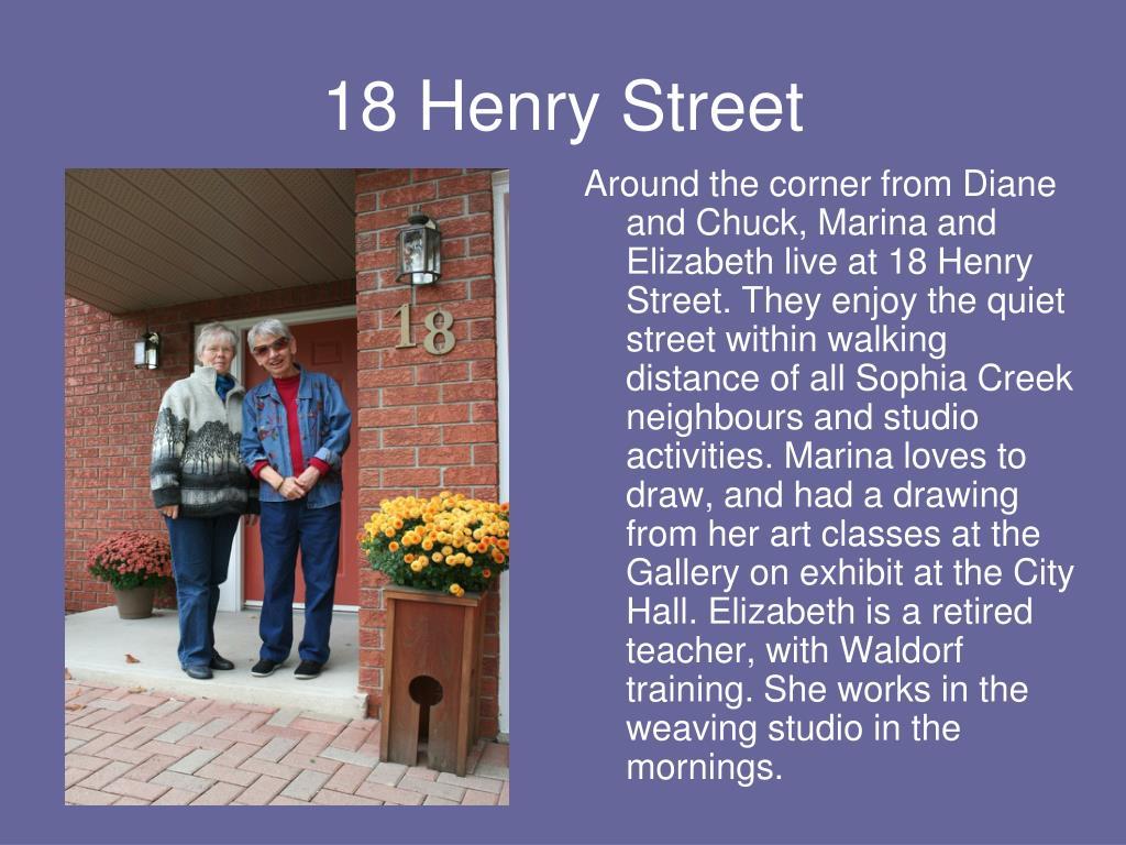 18 Henry Street