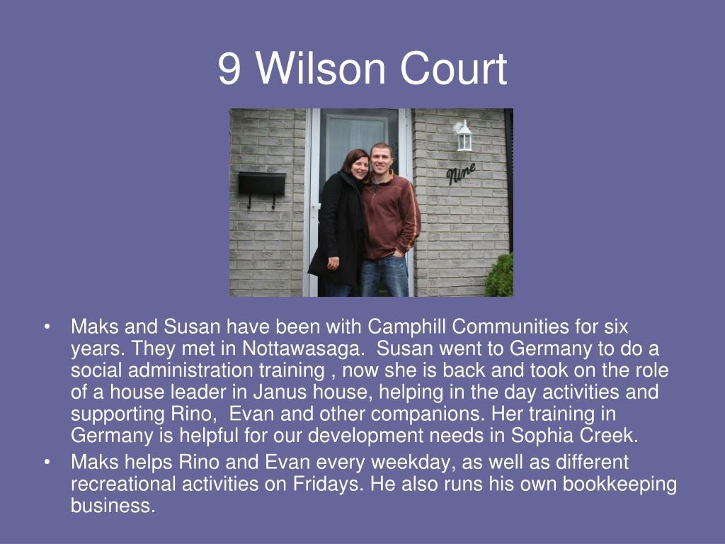 9 Wilson Court