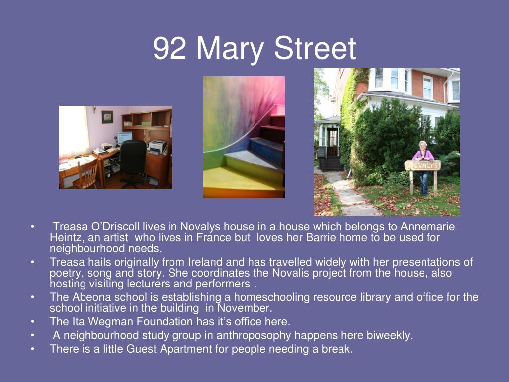 92 Mary Street