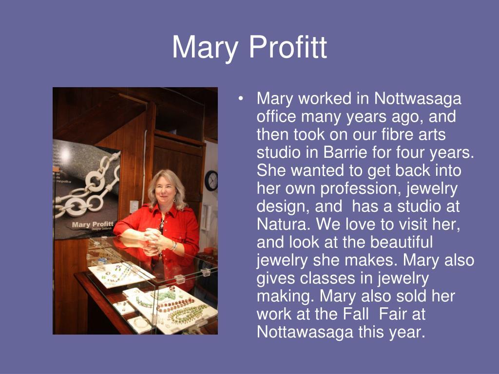 Mary Profitt