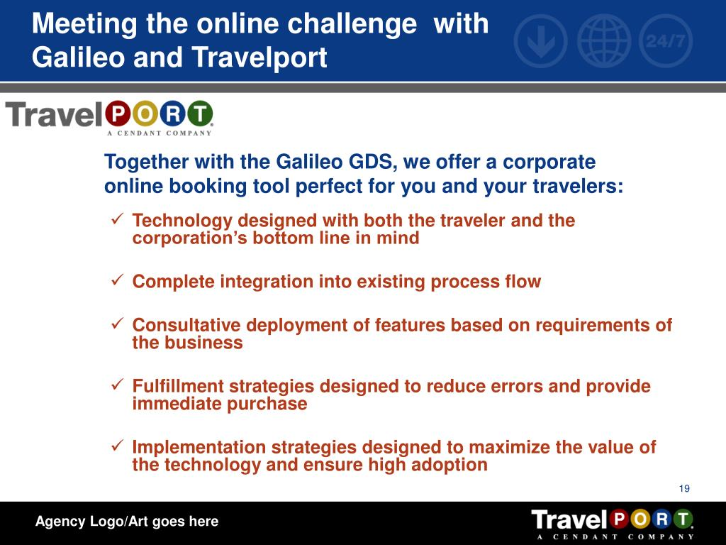 Meeting the online challenge  with Galileo and Travelport